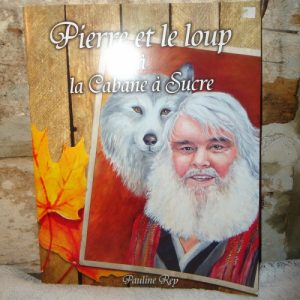 Pierre and the wolf Book