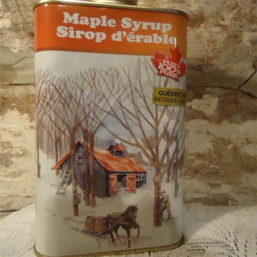 Maple Syrup · Tin Metal · 1 Litre