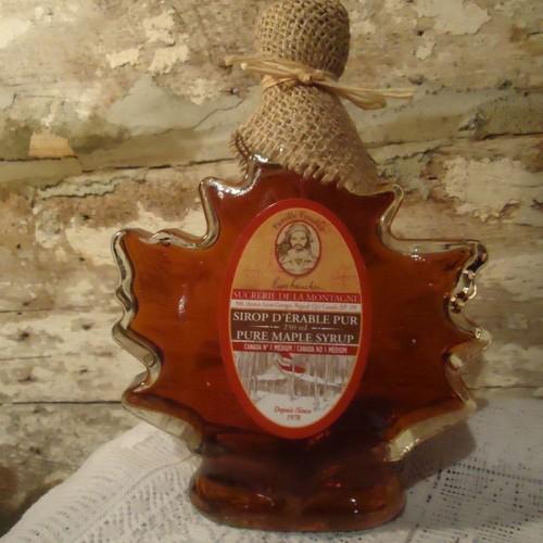 Maple Syrup · Leaf Bottle · 250 ml