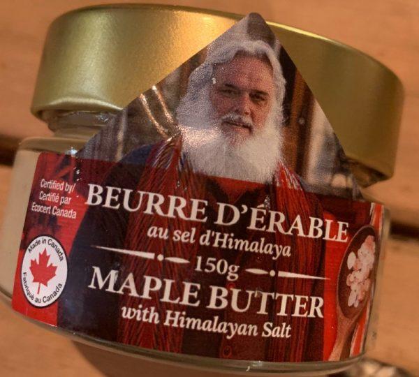 Beurre d'érable au sel d'Himalaya